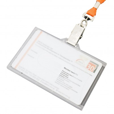 Closed Landscape ID Holder