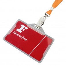 Open Face Edged ID Holder