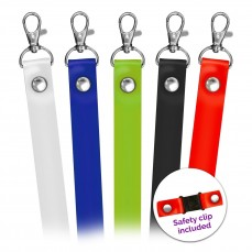 In Stock Silicone Lanyards