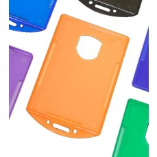 Colour Closed Face Card Holder