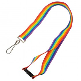 In Stock Rainbow Lanyards