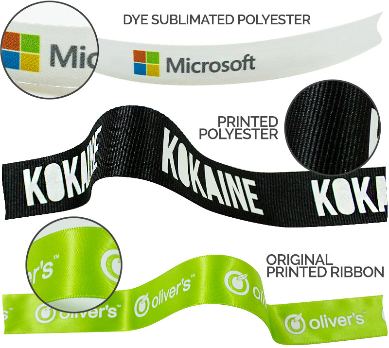 Printed Ribbon Specs